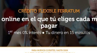 Crédito flexible ferratum